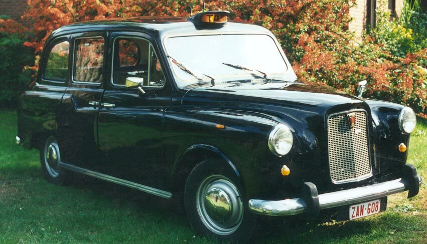 Londense London Taxi wit-1